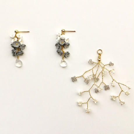Toki  Earrings - SHORT- / eda-L1