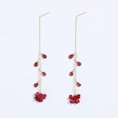 AKANE Drop  Earrings /long ピアス