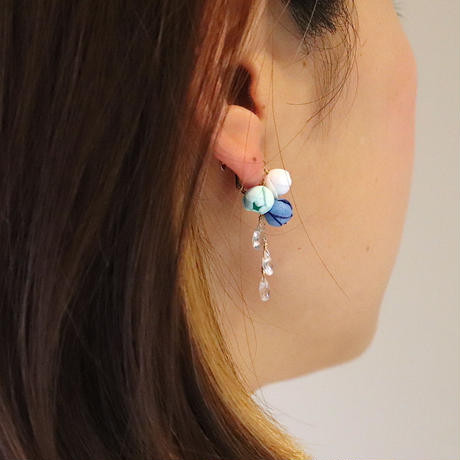 Marine Ear clipsイヤリング