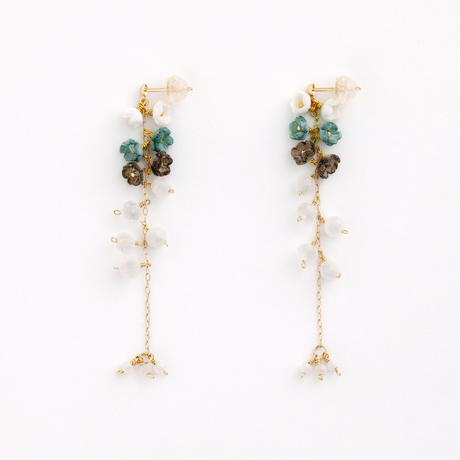 Nano Roop Earringsピアス / Ear clipsイヤリング<short>
