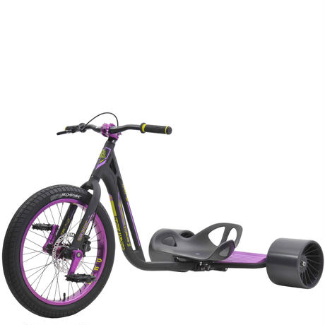 TRIAD Trike Syndicate 3 Black/Purple