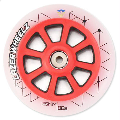 FLYING EAGLE LAZER&SPARK ウィール RED 125mm/88A