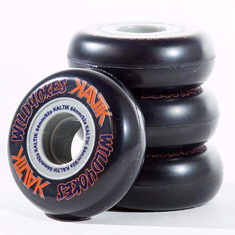 Kaltik WILD YOKES 64mm 92A Black 4個セット