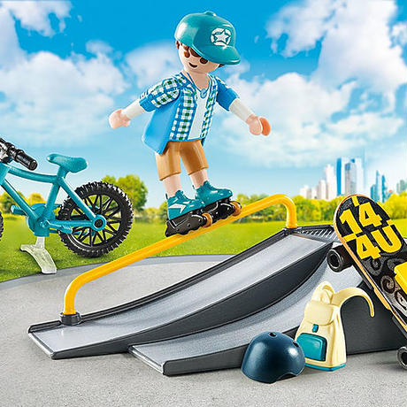 PLAYMOBIL 9107 Extreme Sports ケース付