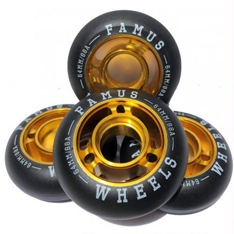 FAMUS Wheels Furious 64mm 88A 4個セット
