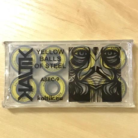 KALTIK ベアリング Yellow ABEC9