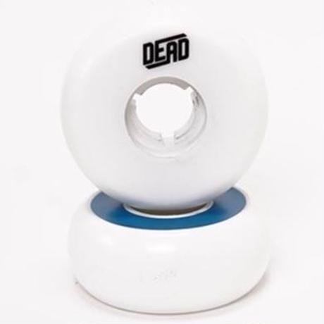 DEAD Wheels TeamWhite  BLUE RING 58mm88a 4個セット