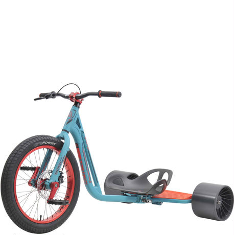 TRIAD Trike Syndicate 3 Teal/Red