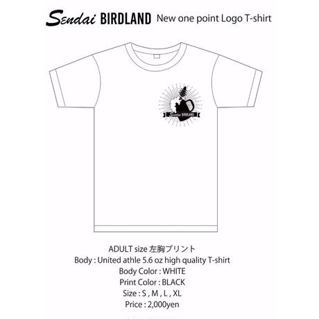 ONE POINT LOGO T-SHIRT ADULT