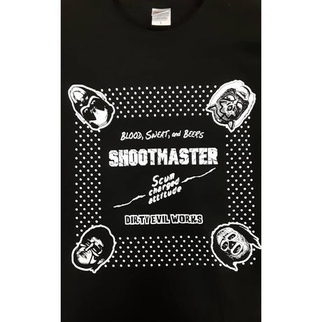 【SHOOTMASTER】 LONG SLEEVE T-SHIRT
