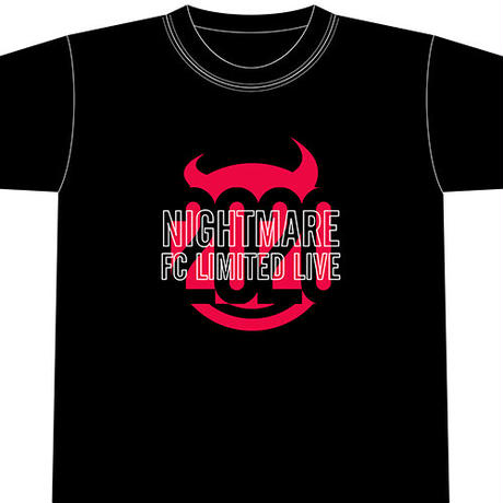 NIGHTMARE FC LIMITED LIVE 2020 Tシャツ
