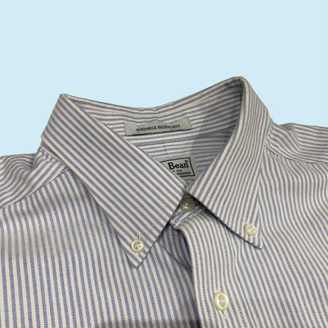 old 90s L.L.Bean stripe over size shirt