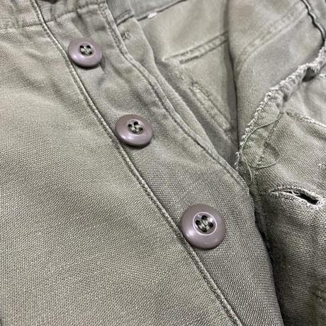 vintage us army cotton baker pants