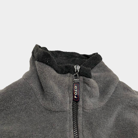 old POLO SPORT over size half zip fleece