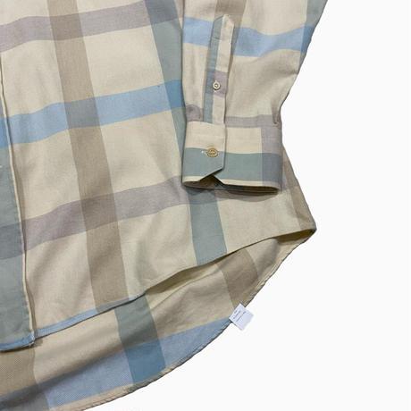 vintage euro cotton check shirt