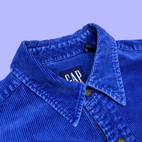 old GAP corduroy shirt