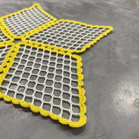 vintage euro mesh coaster