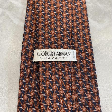 old euro GIORGIO ARMANI silk100% necktie