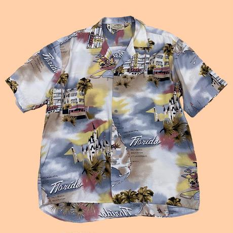 vintage euro rayon viskose shirt