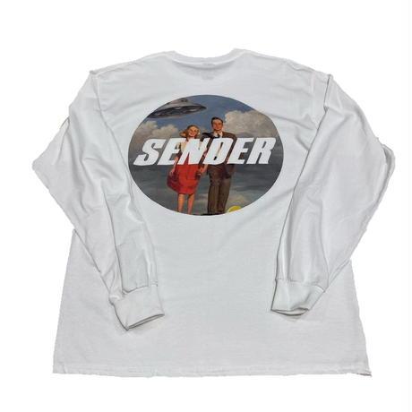 "SENDER TOKYO  ""DMTtrip"" L/S tee"