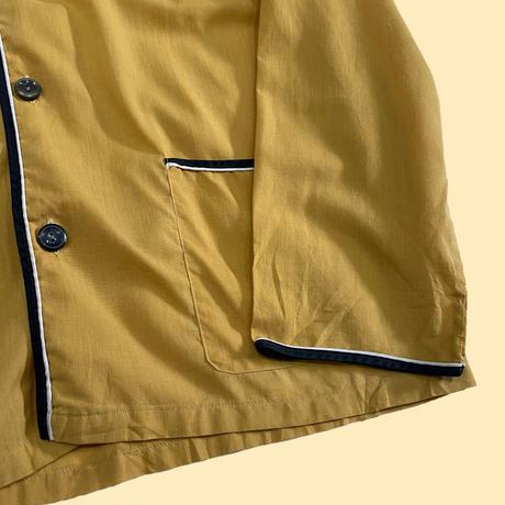 vintage euro cotton pajama cardigan