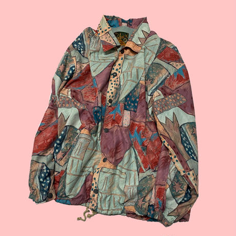 vintage euro crazy coach jacket
