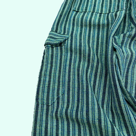 vintage stripe easy pants エクアドル製