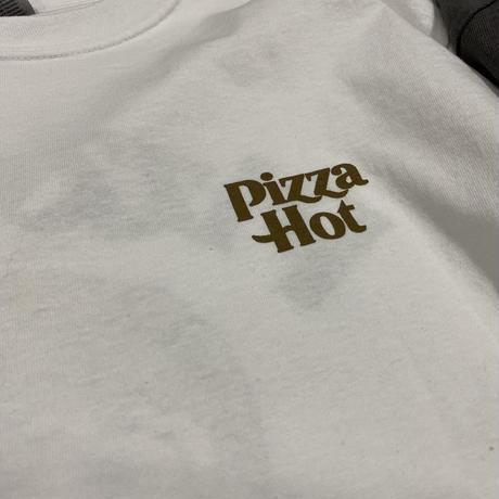 over × SENDER TOKYO Pizza Hot L/S Tee
