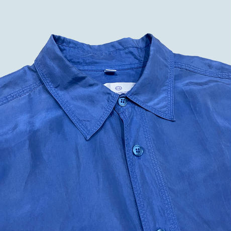 vintage euro silk shirt #B