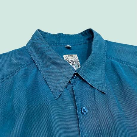 vintage euro silk linen shirt