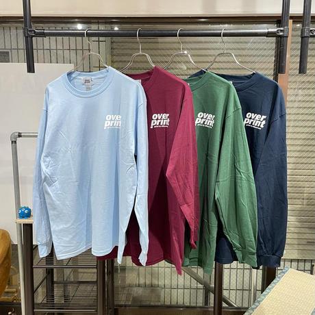 overprint/NEON L/S TEE
