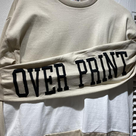 over print Big G Heavy oz LS Tee