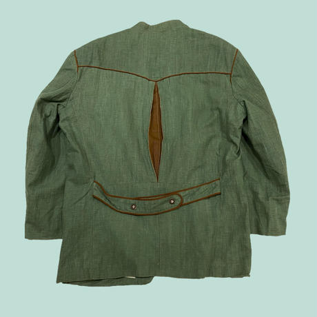 vintage euro Tyrol linen jacket