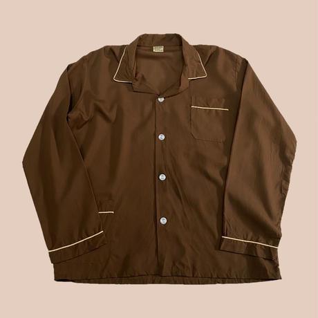 vintage euro cotton pajama shirt