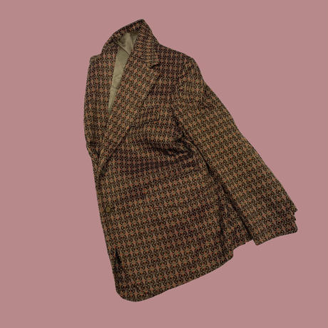 vintage us 80s poly jacket