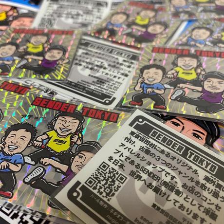 """SENDER TOKYO STORE 3piece PACK"""