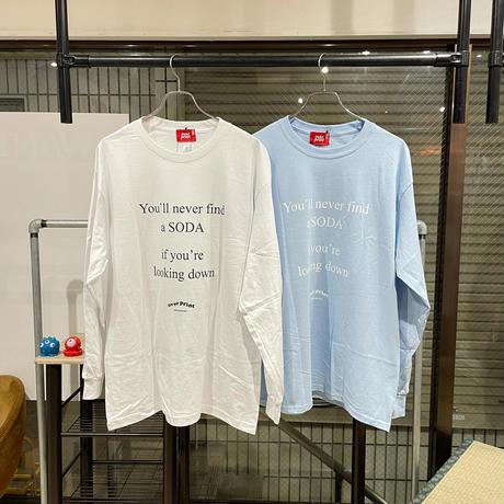 overprint/SODA L/S TEE
