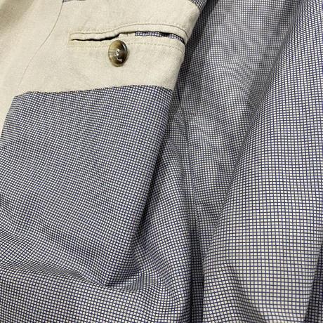 vintage euro over size linen jacket