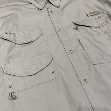 old 90s Columbia PFG fishing shirt
