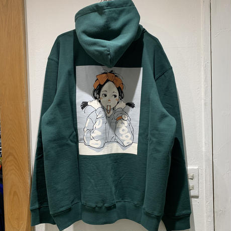 "over print×9090""POPART PULLOVER HOODIE"""