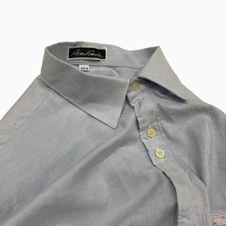 vintage euro plain design shirt