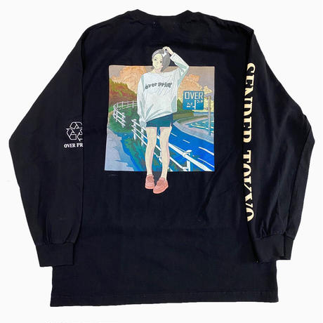 "SENDER TOKYO × OVER PRINT ""sunset L/S"""