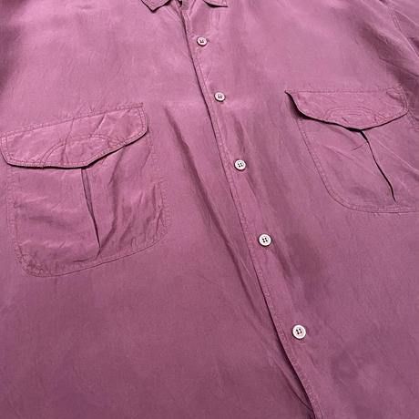 vintage euro silk shirt