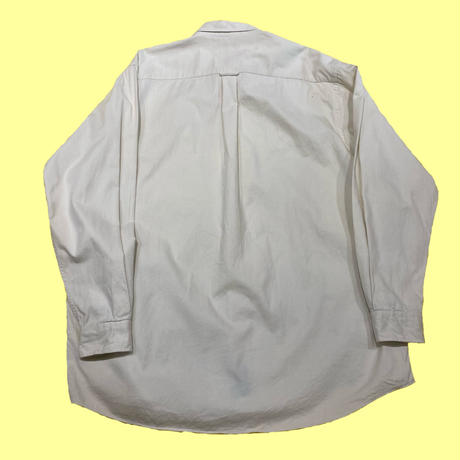 old NAUTICA over size plain cotton shirt