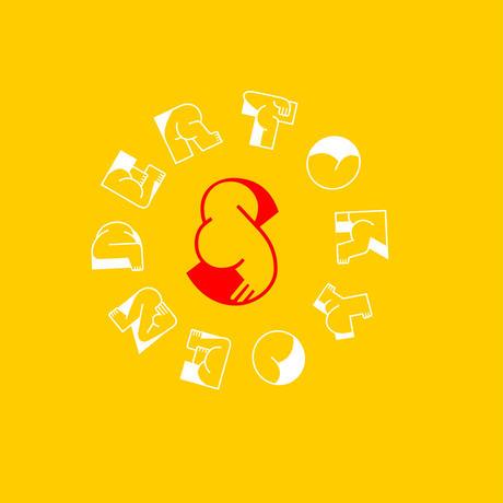 """SENDER TOKYO """"CIRCLE LOGO"""" SWEAT"""