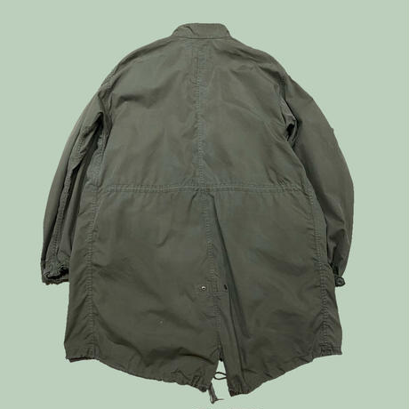 vintage us military M-65 fishtail parka 80s ジップ欠け