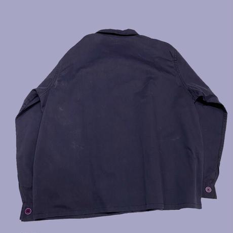 vintage euro work jacket poly cotton
