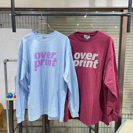 overprint/DOT L/S TEE