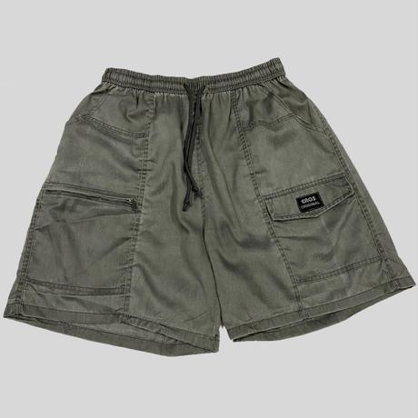 vintage euro easy cargo shorts gray