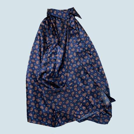 vintage euro satin pajama shirt